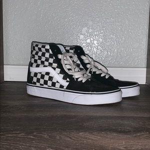 SK8-HI Checkered Vans